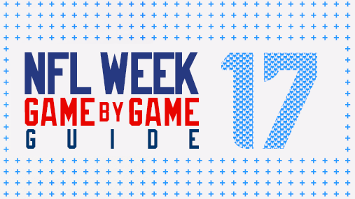 NFL Sunday Week 17 Game Betting Guide: Opening Lines, Spreads & Totals Odds