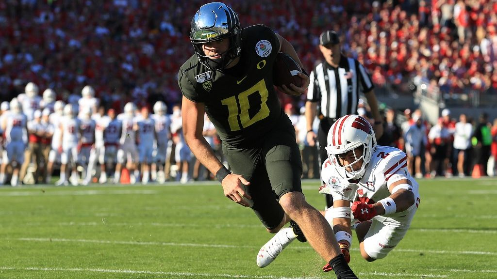 Projections for Justin Herbert