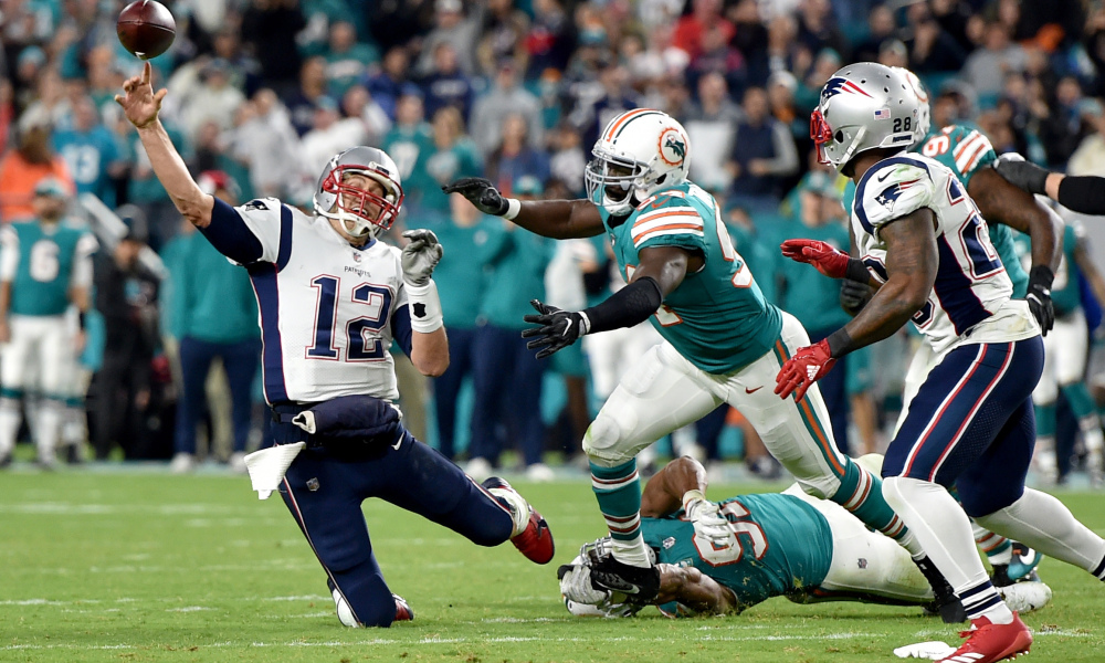 Patriots-Dolphins: Everyone Likes It In Miami  Except Tom Brady