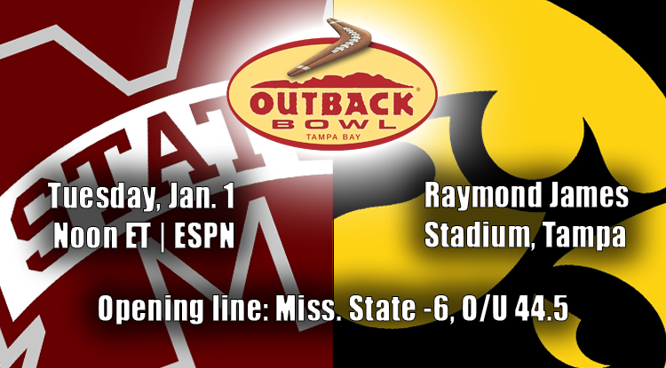 Mississippi State Vs. Iowa: Outback Bowl Trends & Betting History