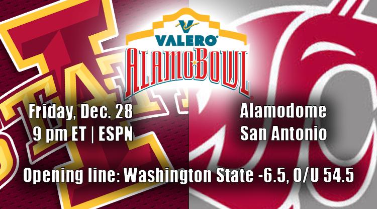 Iowa State Vs. Washington State: Alamo Bowl History & Betting Trends