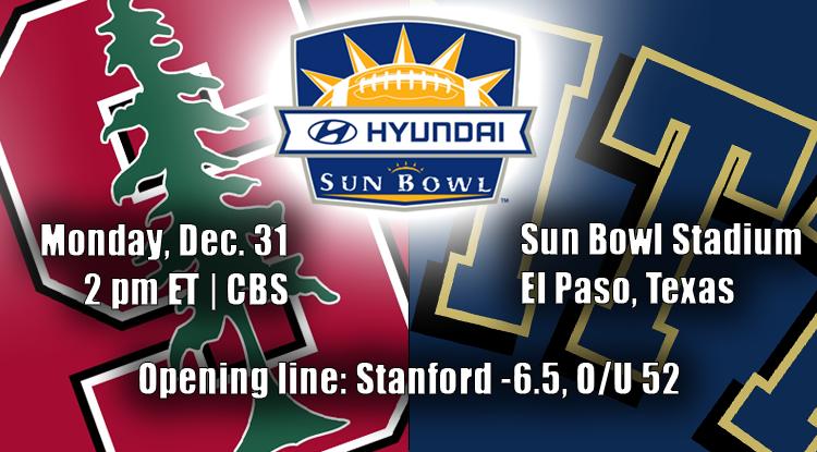 Stanford Vs. Pitt: Sun Bowl Trends & Betting History