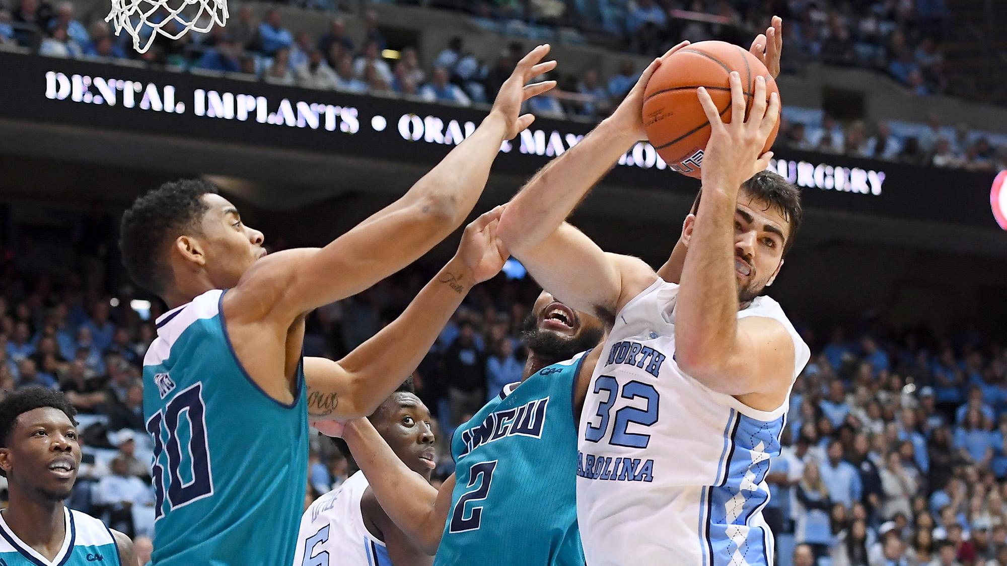 No. 12 North Carolina Collars No. 4 Gonzaga In Chapel Hill Saturday