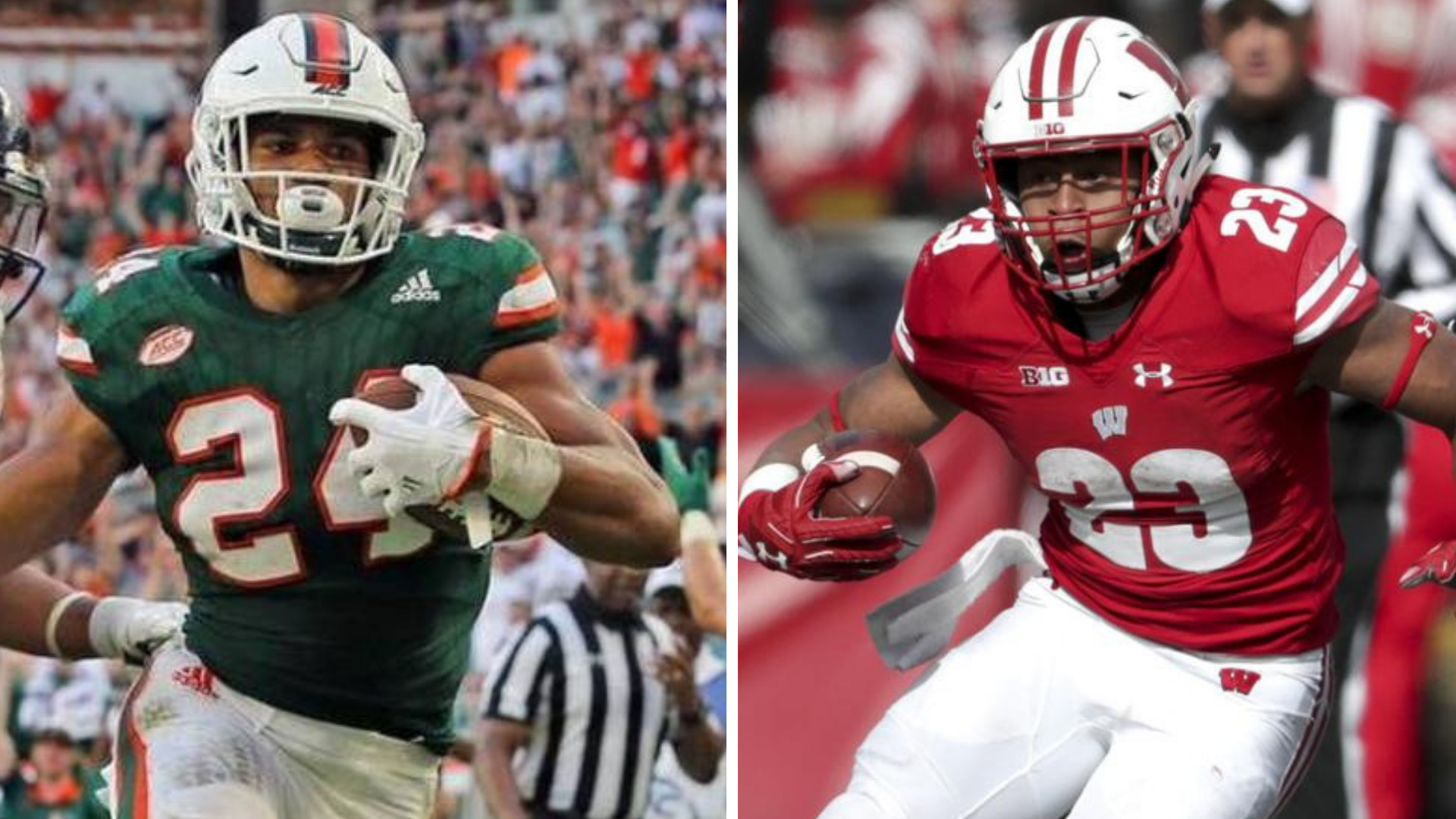 Hurricanes Are Category 5 In Pinstripe Bowl Against Wisconsin