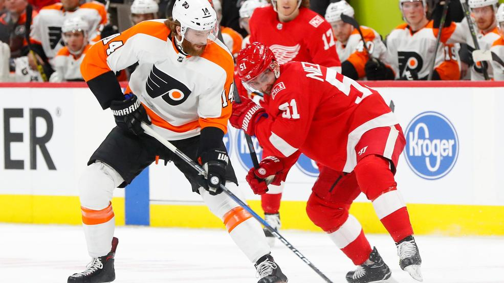 Red Wings-Flyers: New Coach, Same Losing Results For Philly