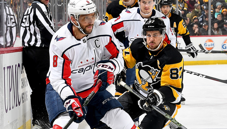 Ovechkin, Caps Beat Rival Pens In Another Seesaw Affair