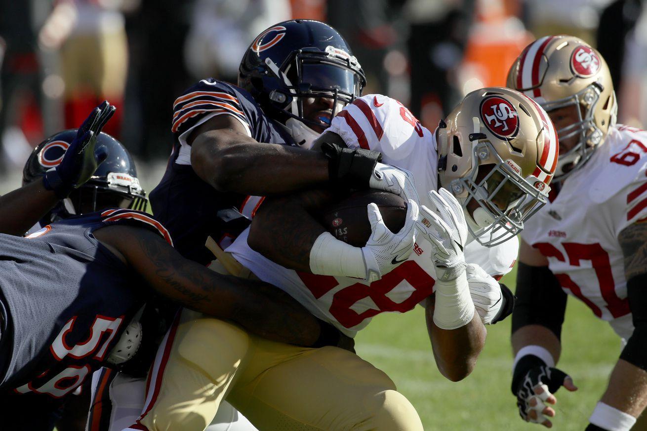 Taking Stock: 49ers Won't Turn Over New Leaf Vs. Bears
