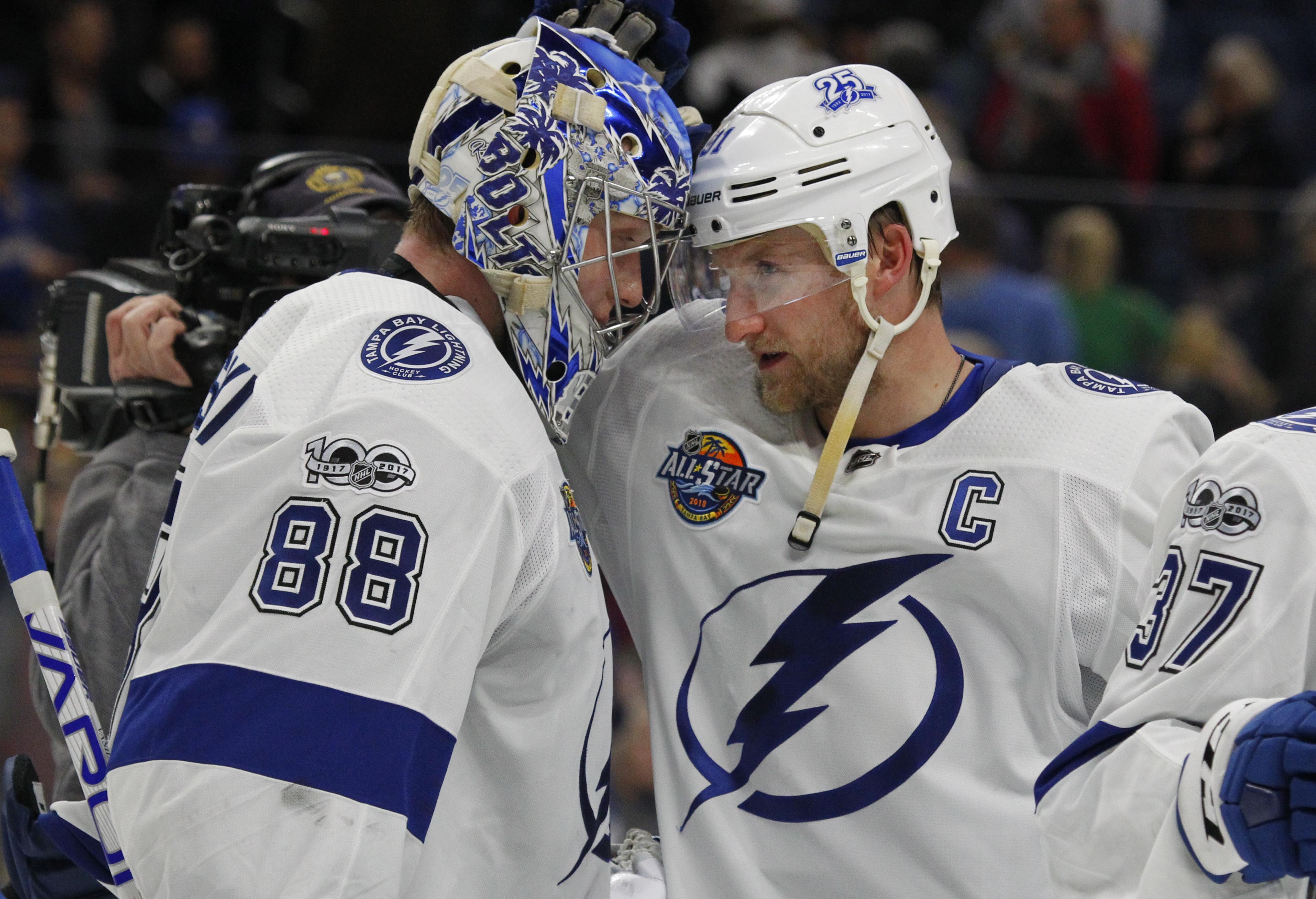 Five Alive: Lightning Strike Back And Take Top Spot
