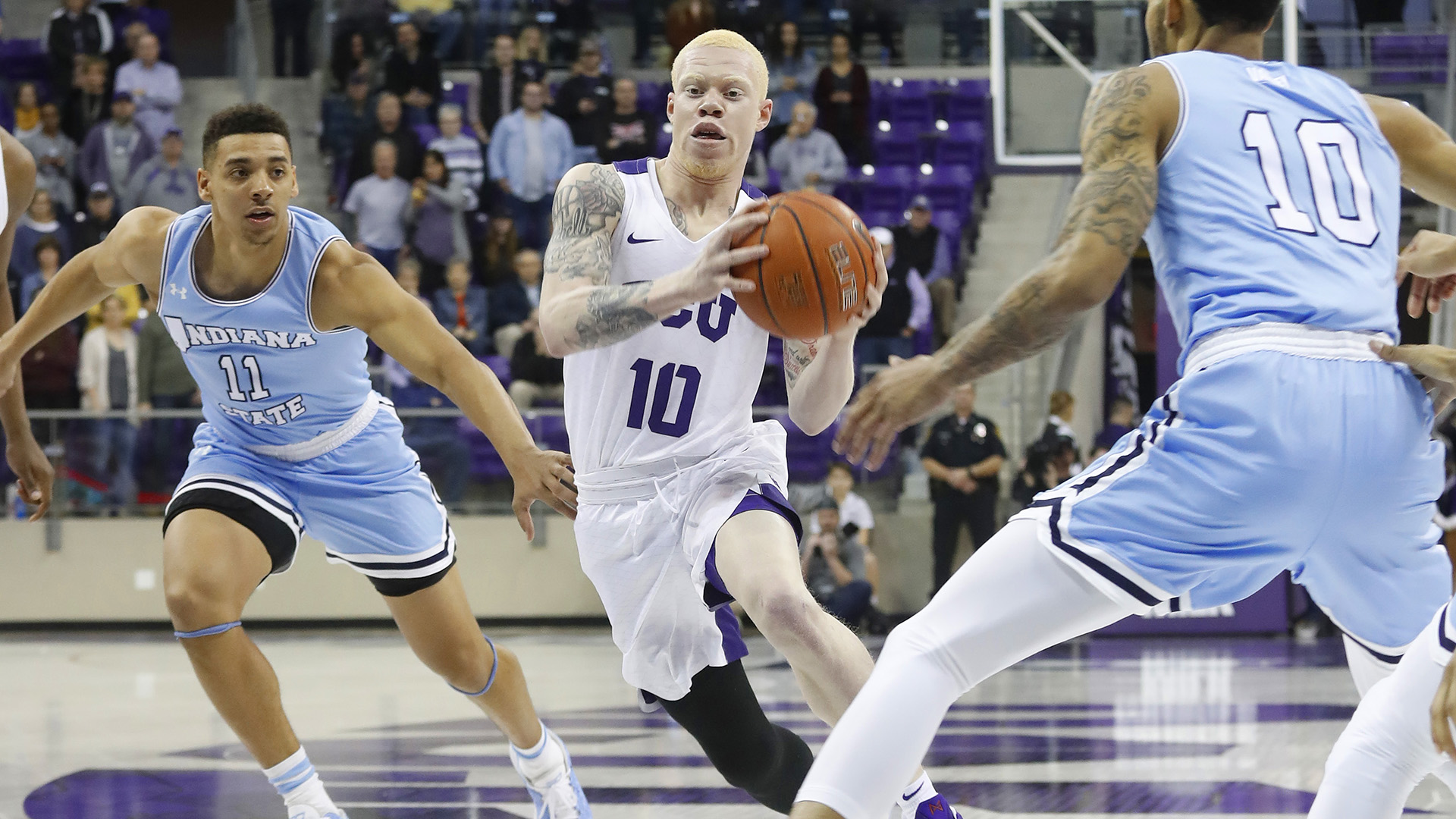 Indiana State And TCU Collide In Rare Non-Conference Rematch