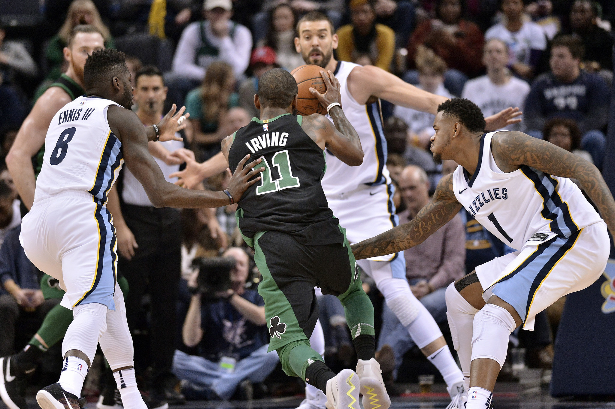 Gassed Celtics Will Drop Grind-Fest At Rested Grizzlies Saturday