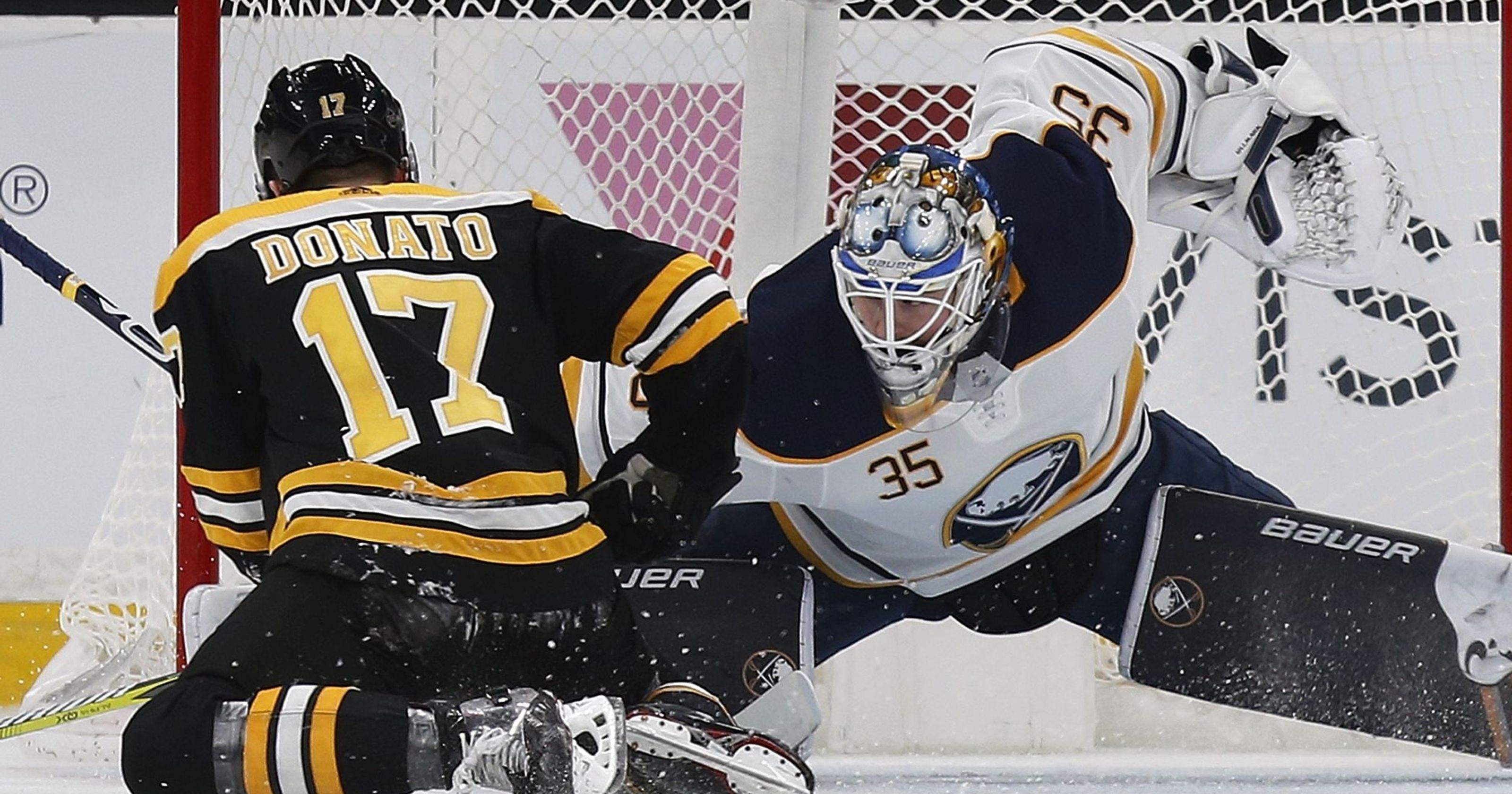 Sabres Send Distracted Bruins Into Winter Classic With 3rd Straight Loss