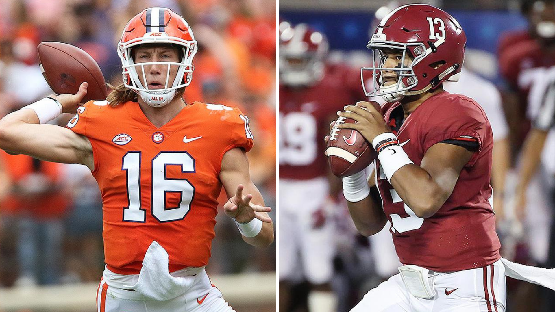 Looking Ahead To National Title Game Between Clemson And Alabama