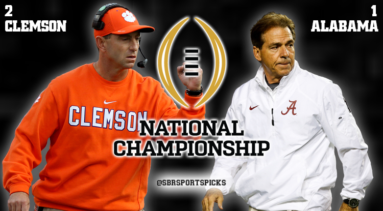 National Championship: Crimson Tide Will Engulf Tigers For 2019 Title
