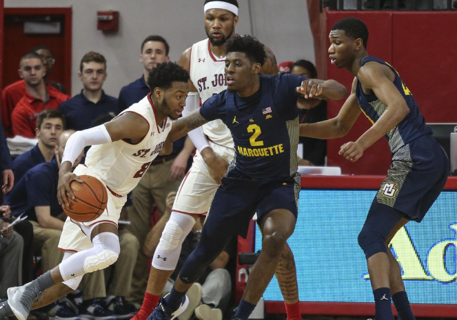 No. 16 Marquette To Storm Past St. Johns In Big East Opener Tuesday