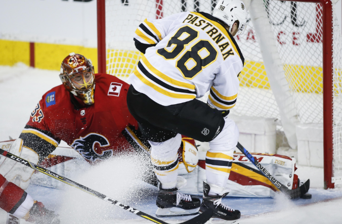 Goals To Be Scarce When Tired Flames Visit Recuperating Bruins