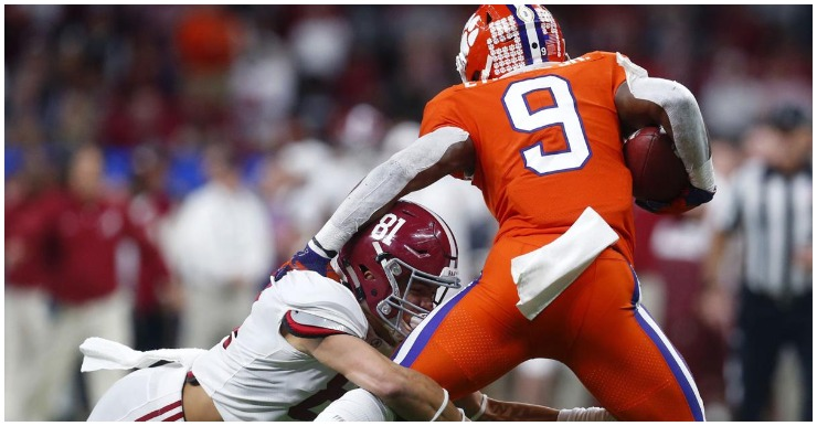 Clemson Player Props: Will Lawrence Connect  Often & How Many Yards For Etienne?
