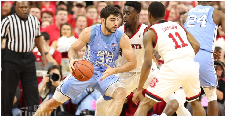 Tuesday Tussle Finds No. 15 Tar Heels At No. 18 Wolfpack