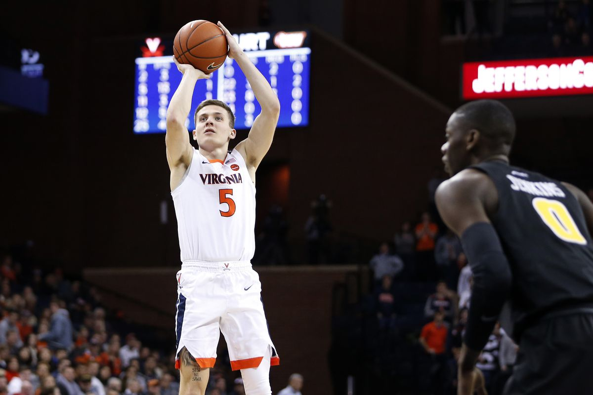 Virginia Will Live Up To Rankings Vs. Boston College On Wednesday