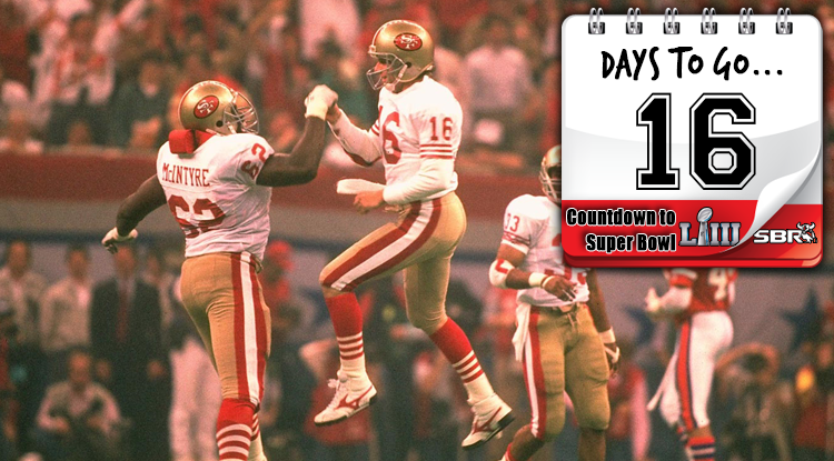 16 Days Until Super Bowl LIII: 49ers' Montana Becomes The Clutch King