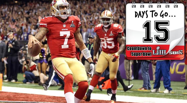 15 Days Until Super Bowl LIII: Kaepernick And 49ers Fall Just Short