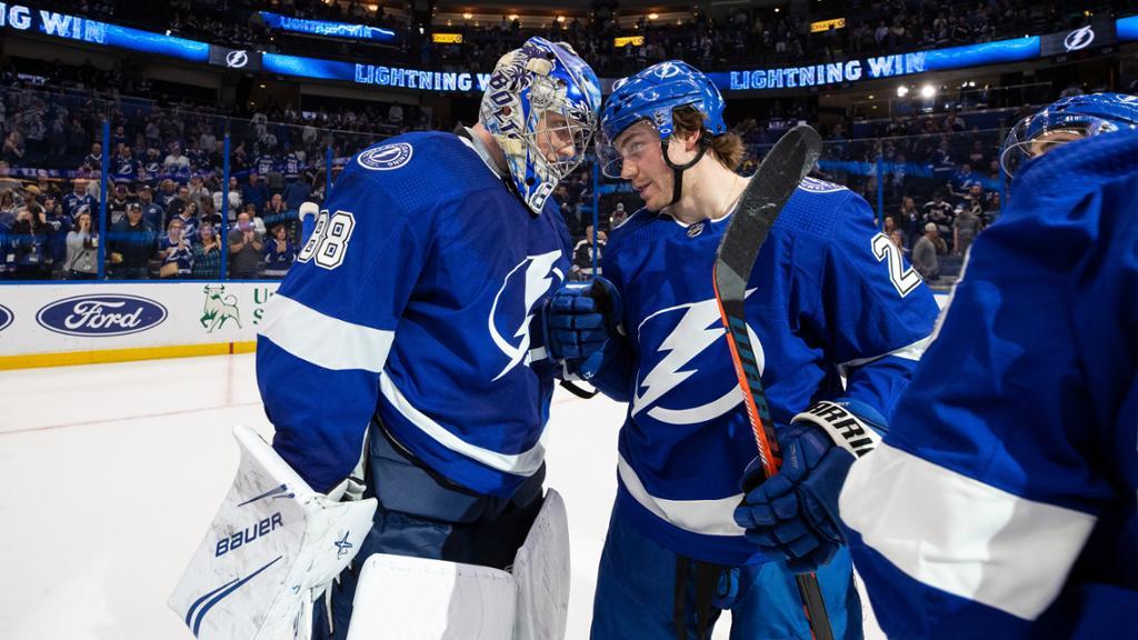Five Alive: Lightning Keep Top Spot