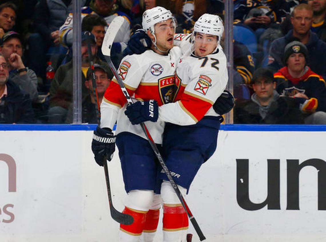 Panthers Beat Pettersson-Less Canucks