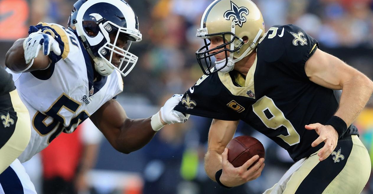 Breaking Down Rams Defensive Advantage Against Saints Offense