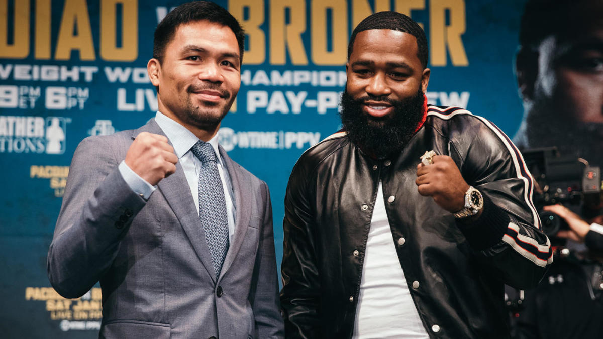 Manny Pacquiao Vs Adrien Broner Likely To Go Distance