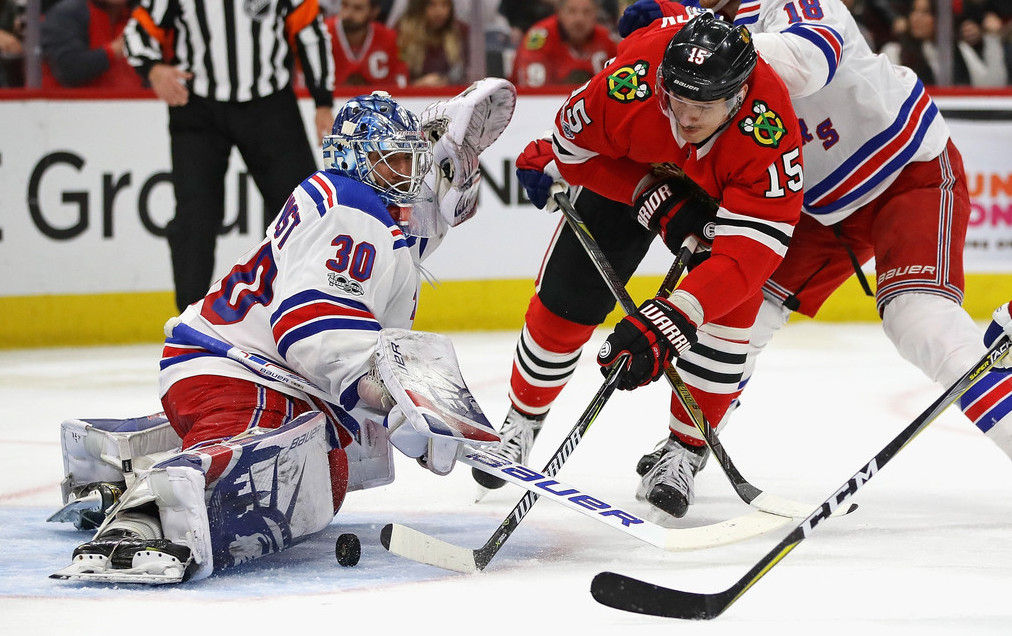 Hawks Still Skidding While Rangers Look To Build On Rare Win