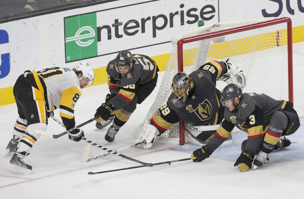 Knights Look Golden On Saturday Night Over The Pens