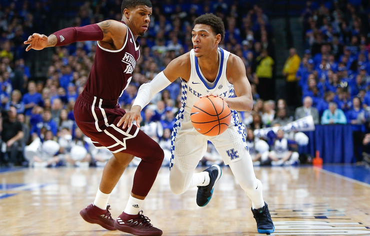 No. 8 Kentucky To Muzzle No. 22 Mississippi State