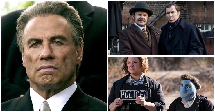 'Happytime Murders,' 'Gotti' And 'Holmes & Watson' Lead Razzies Nominations