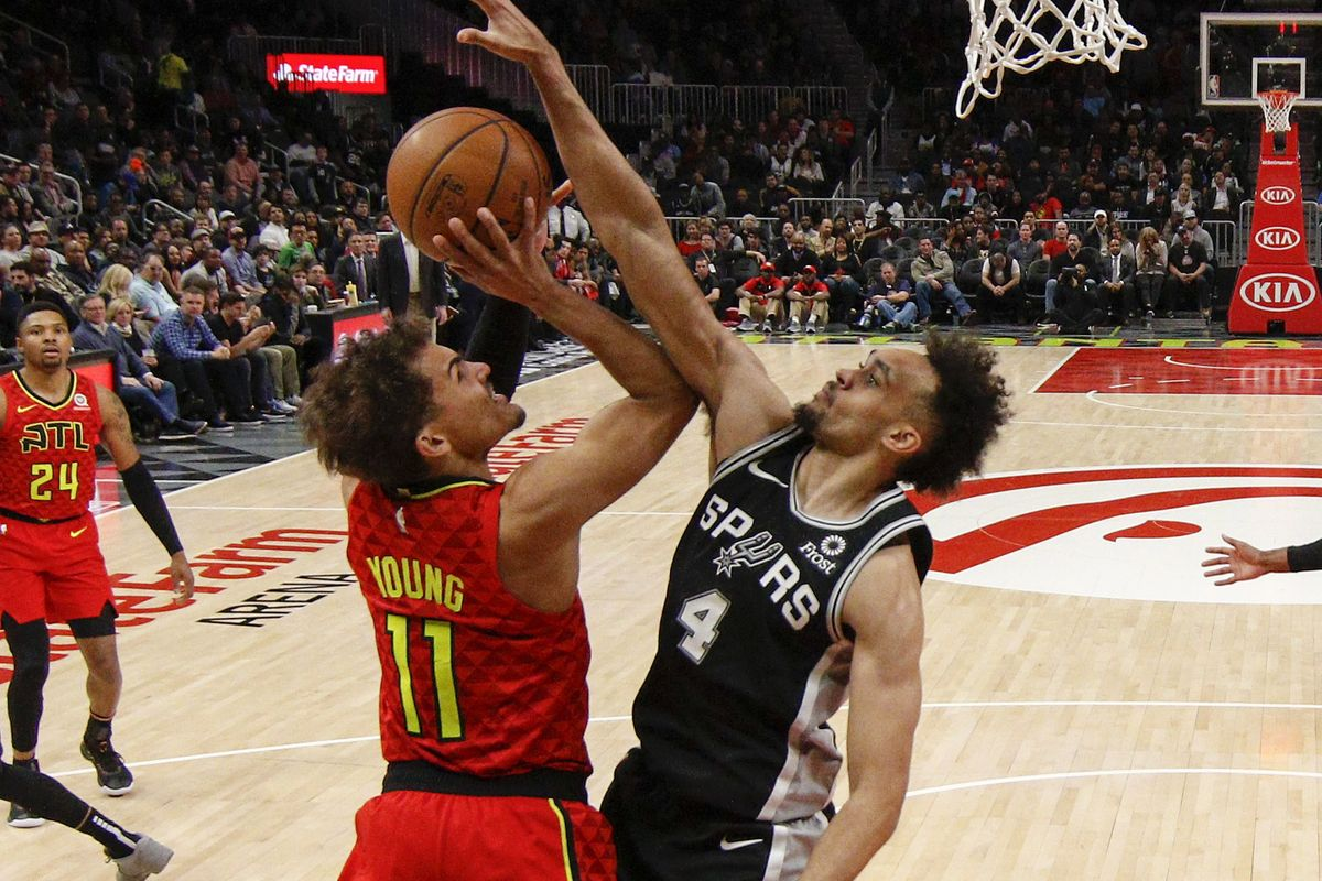 Trae Young To Lead Hawks To Cover At Spurs