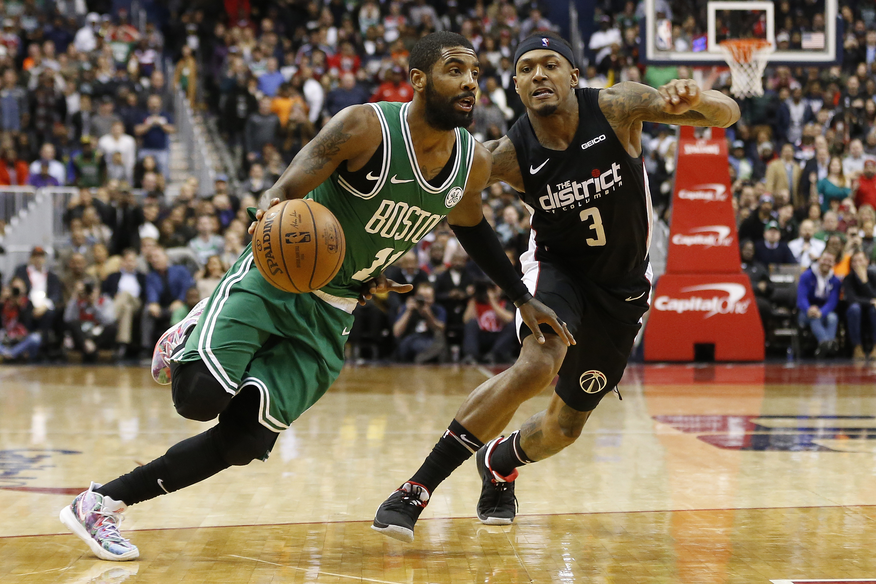 Go With Over When Wizards Host Pseudo-Celtics