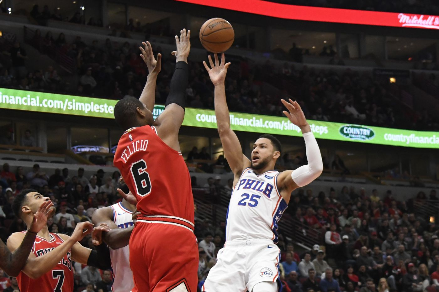 Even With Philly Resting Starters, Bulls Offense Stands No Chance