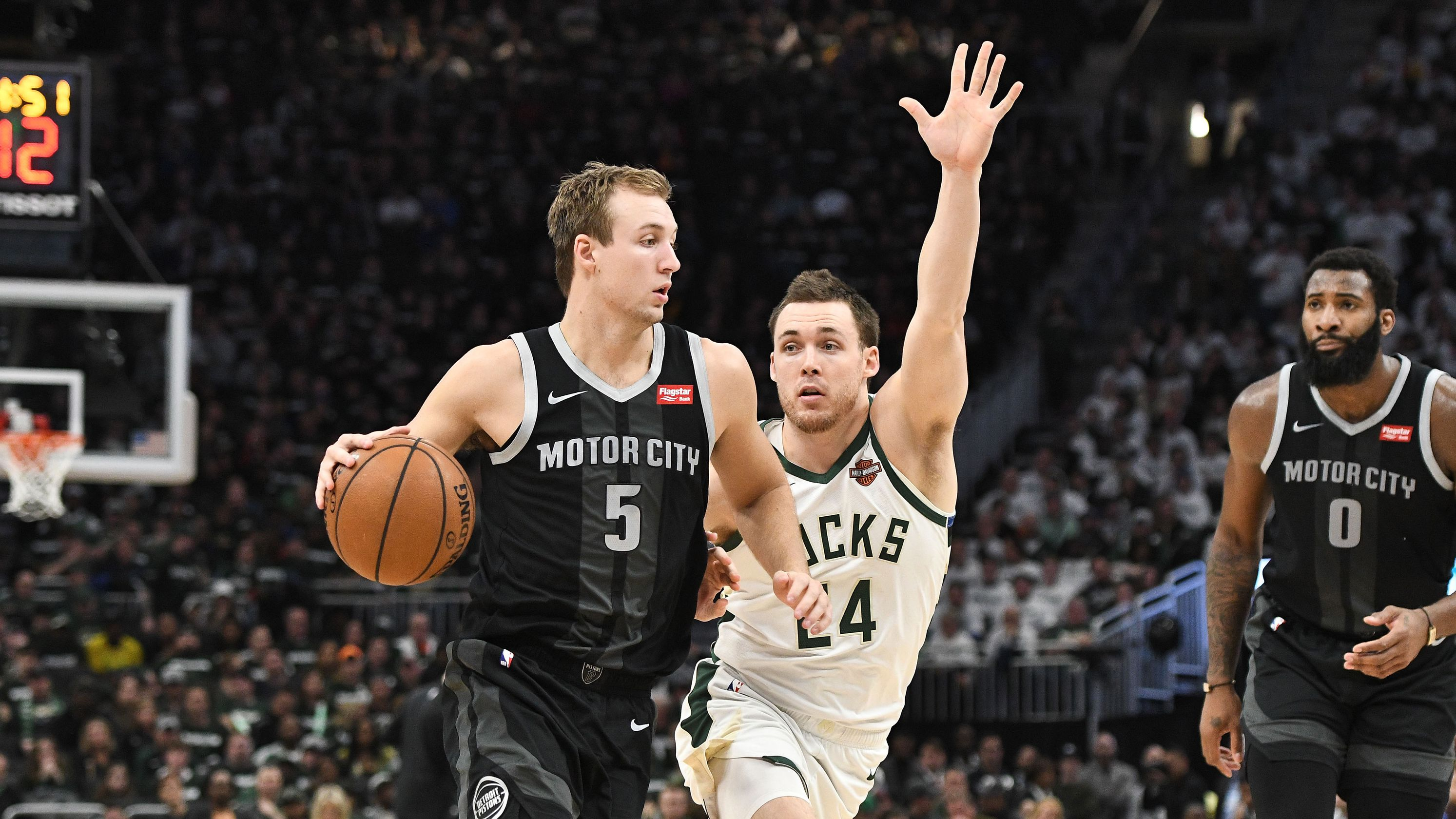 Take A Moneyline Flier On Pistons For Game 2 In Milwaukee