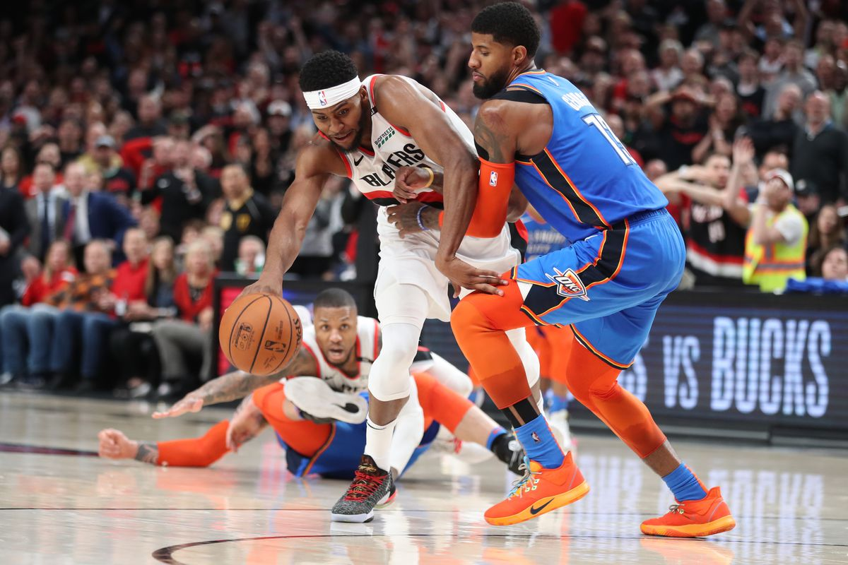 Early Action On Over For Blazers-Thunder Game 3