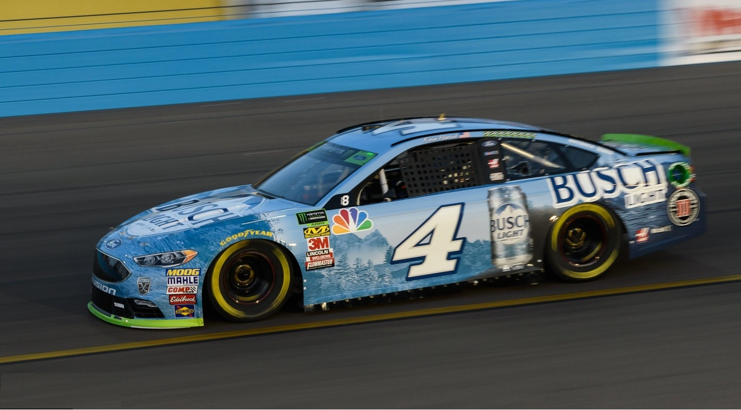 Kevin Harvick Takes Aim At A Repeat Performance In The First Race This Season In Kansas