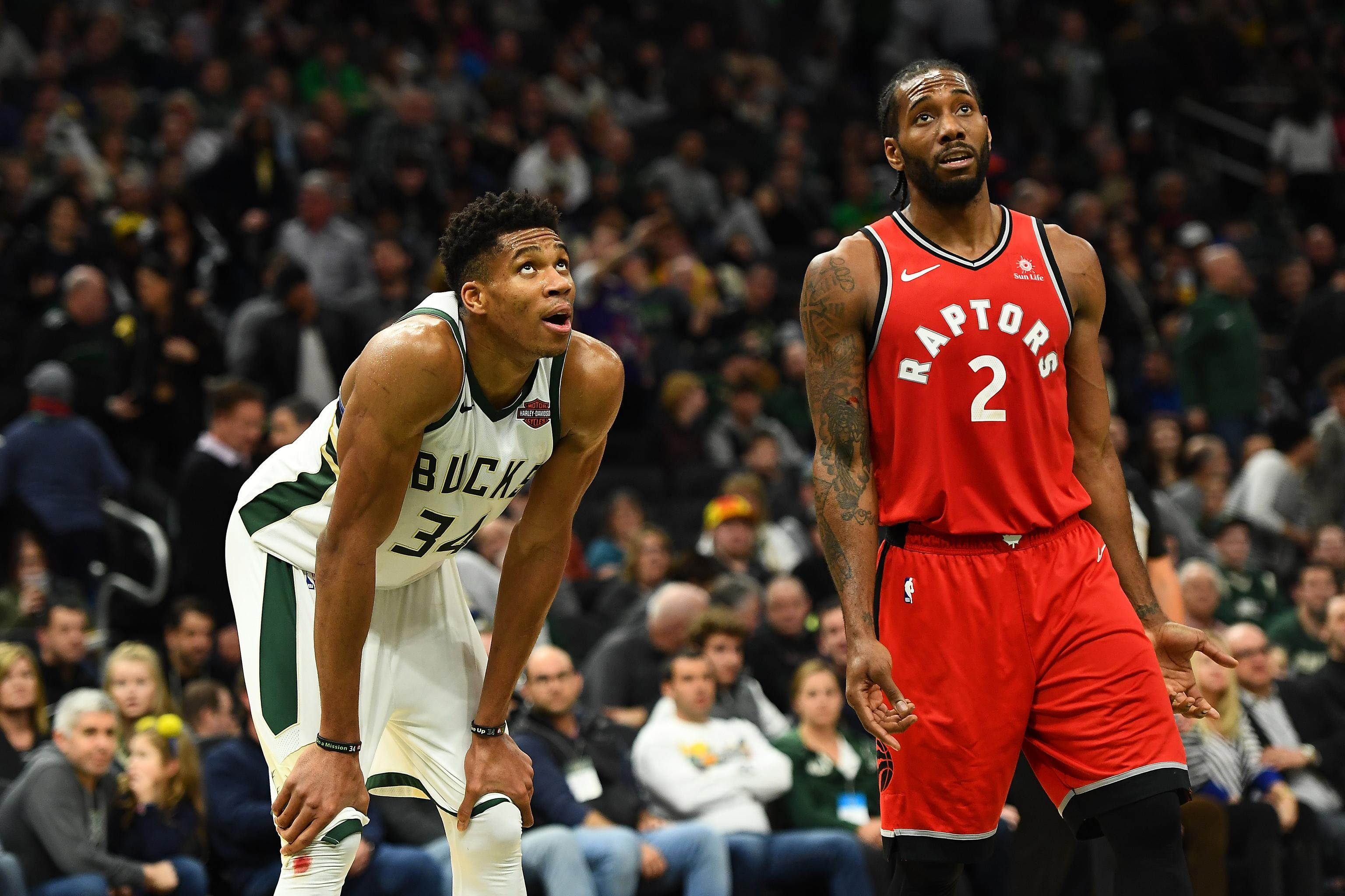Raptors, Bucks Have The Power To Go Over In Game 1
