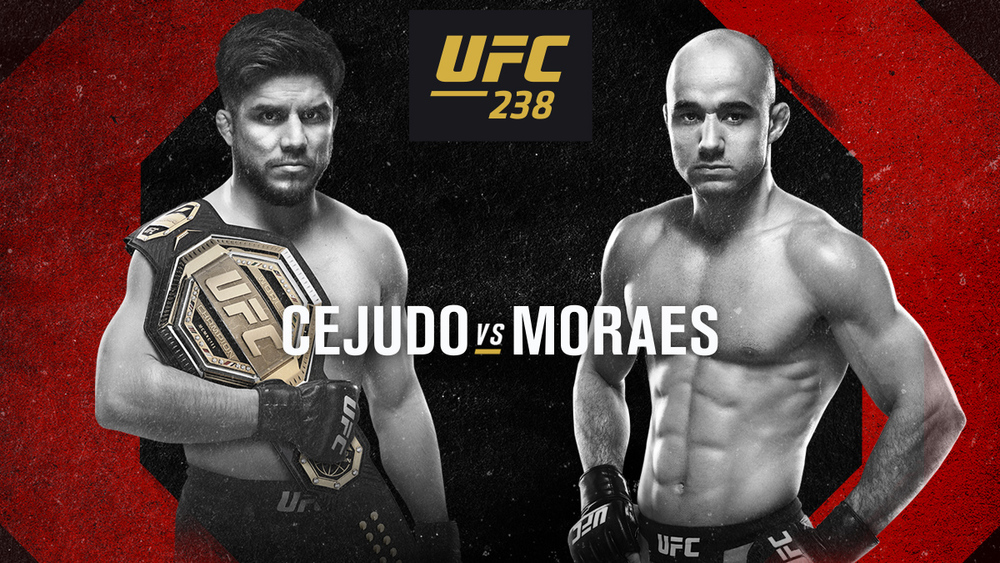 UFC 238 Picks: Cejudo Will Become Champ Champ Champ