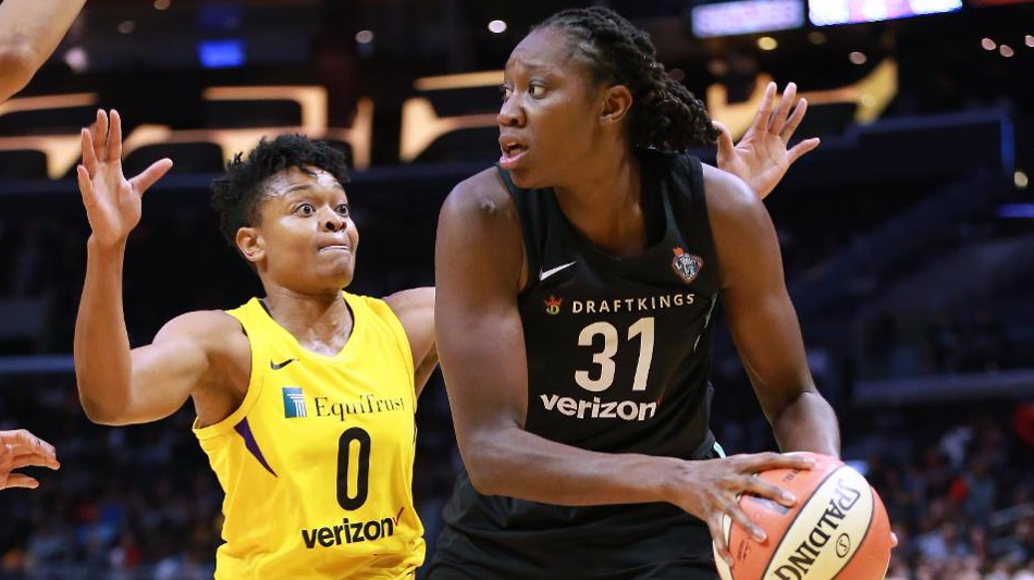 Tina Charles Can Help Liberty Keep Up With Sparks