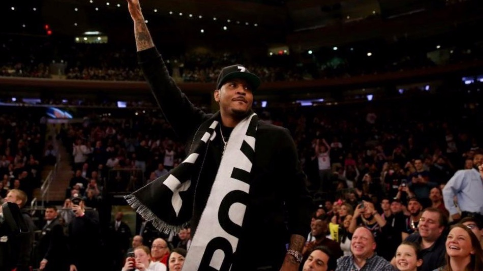 Carmelo Anthony Has Been Working Out With Nets Players
