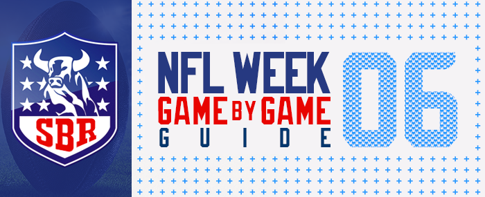 Week 6 Nfl Betting Guide Games Schedule Injury Reports Opening Spreads Totals Picks