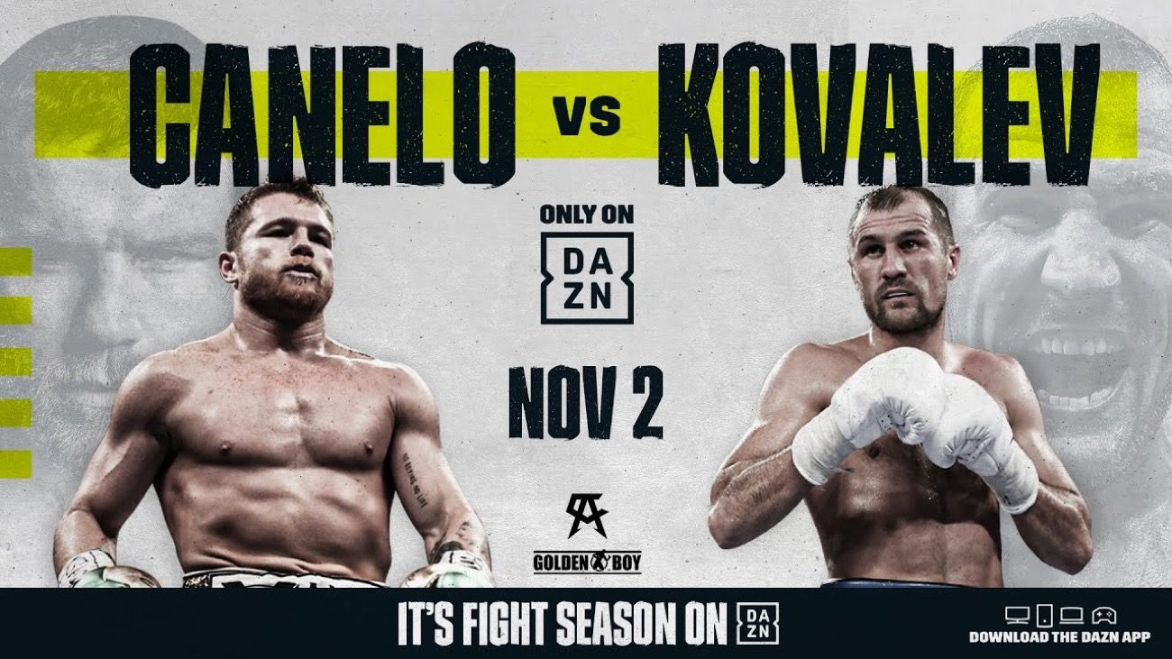 Canelo vs Kovalev: WBO Light Heavyweight Championship Betting Picks