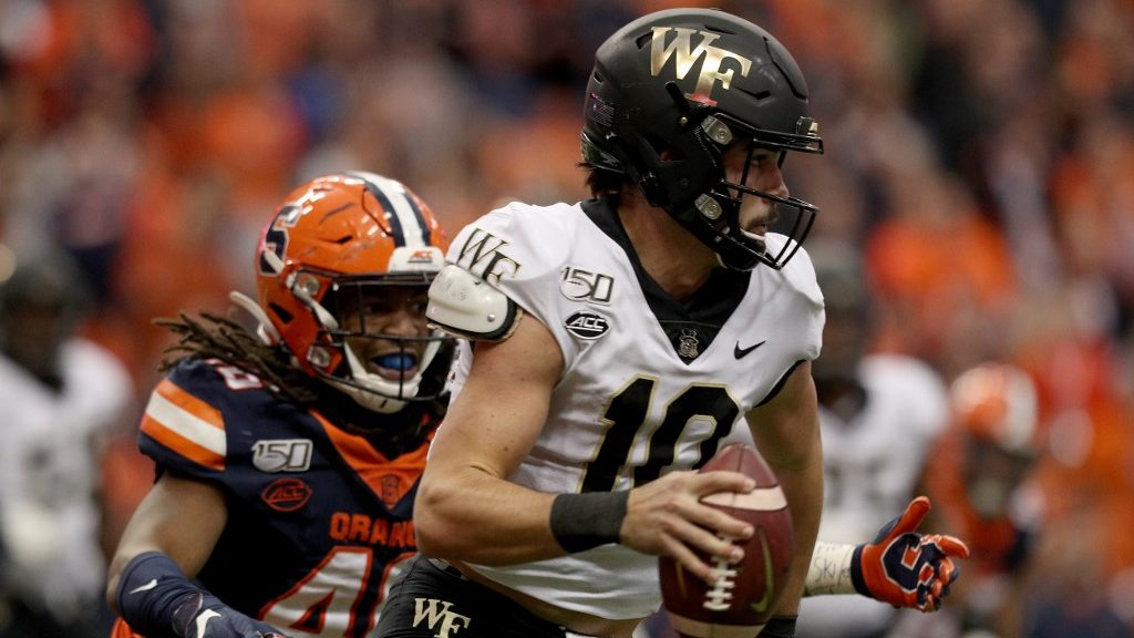 What to Expect From Sam Hartman as Wake Forest's Starting Quarterback