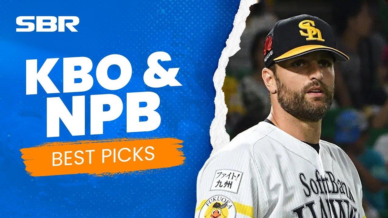 Korean Baseball (KBO) + NPB Picks & Predictions (July 8th)