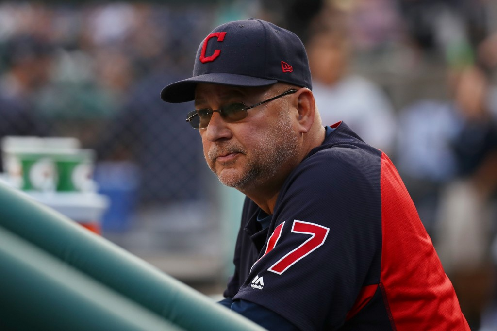Manager Terry Francona Cleveland Indians