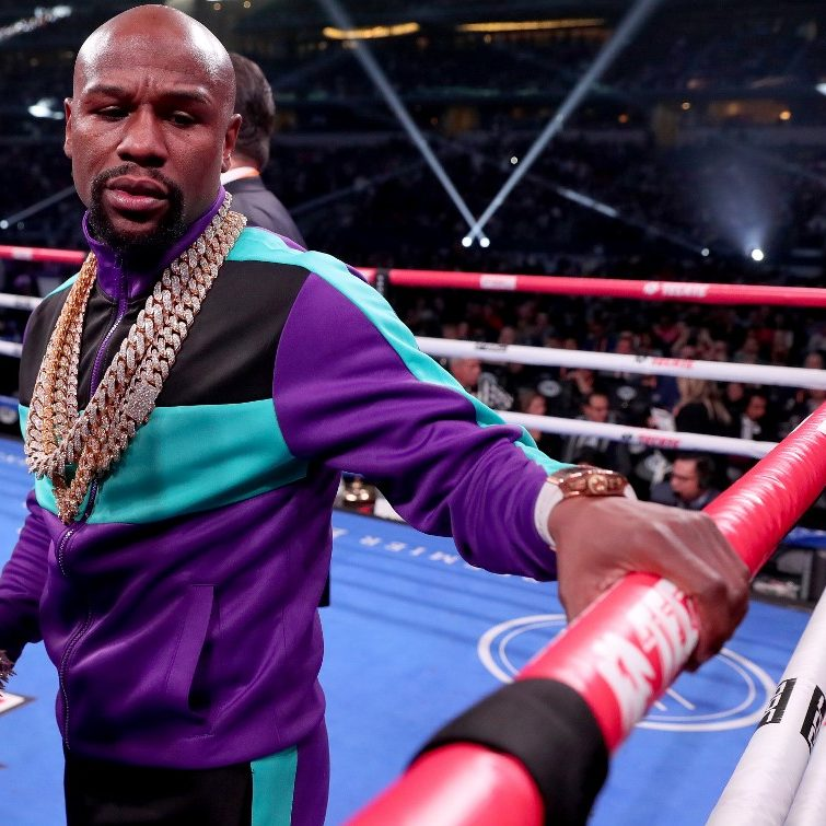 Bet on How Much Floyd Mayweather Spent on His Bling