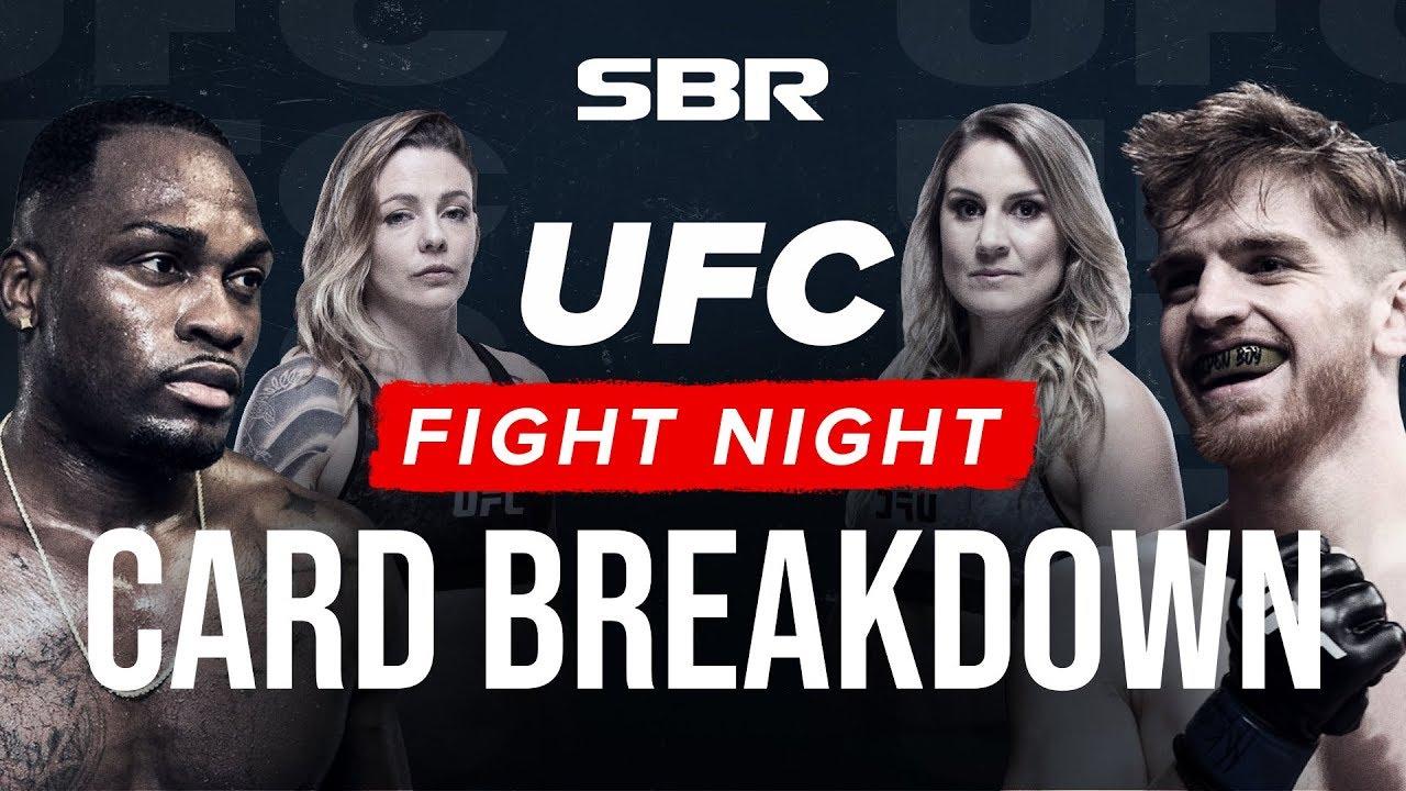 [Watch] UFC Fight Night: Derek Brunson vs Edmen Shahbazyan