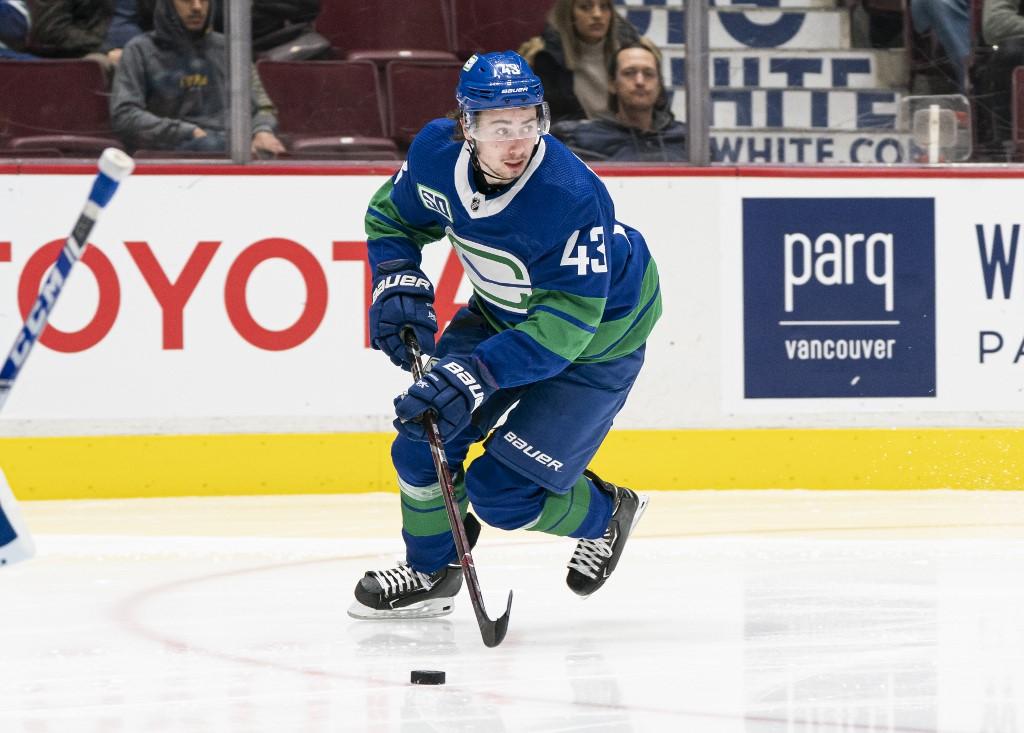 Quinn Hughes Vancouver Canucks